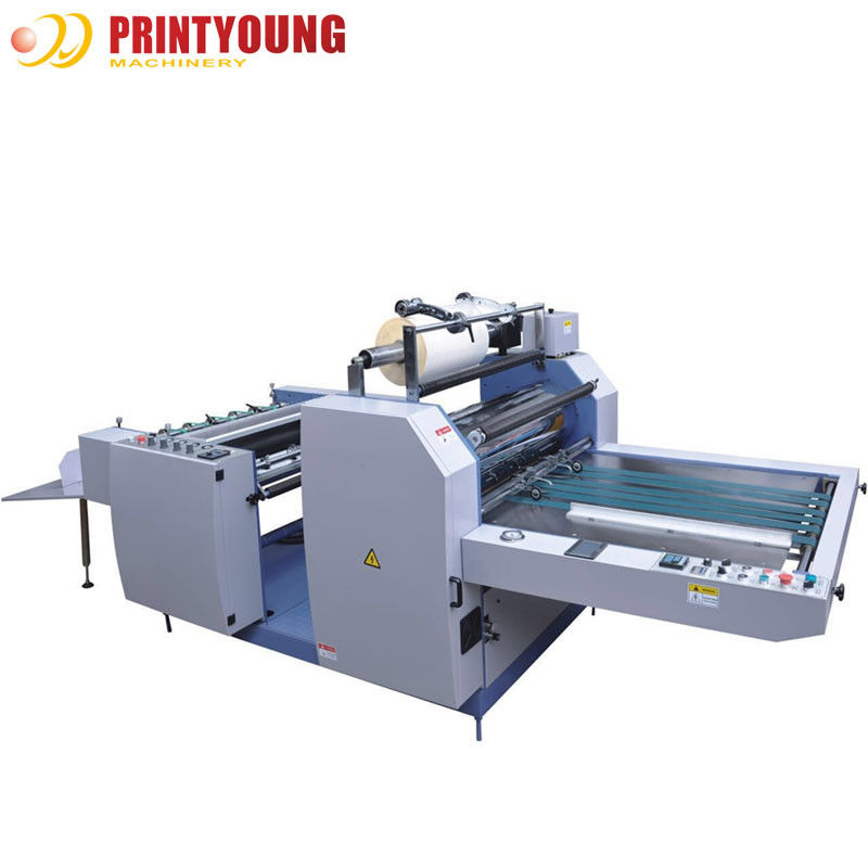 Double Sides Bopp Film Laminating Machine Manual Paper Feeding